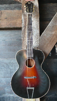 Kay deluxe 'roundhole' archtop