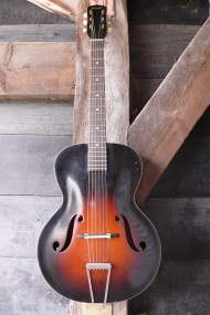 Supertone archtop made by Harmony