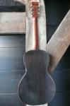 esdoorn achterkant en zijkanten, faux rio palissander