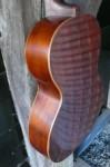 zijkanten met houten biezen