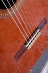 palissander zadel, nieuw zadelbeen. Western Red Cedar bovenblad