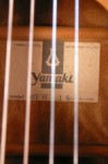 Yamaki label YW-15 made in Japan